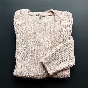 NWT {Seven7 Jeans} Chenille Open Cardigan-Sweater